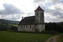 Kostel sv. Jana Nepomuckého na Vrchní Orlici.