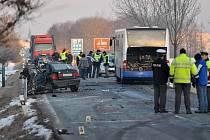K tragické dopravní nehodě došlo v pondělí 30. ĺedna po půl sedmé ráno mezi Dobruškou a Chábory.