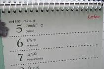 Kalendář (ilustrační foto).