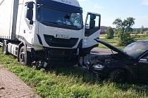 Středeční nehoda v Podbřezí