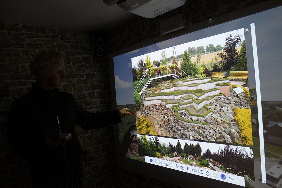 Model věže s virtuální prohlídkou.