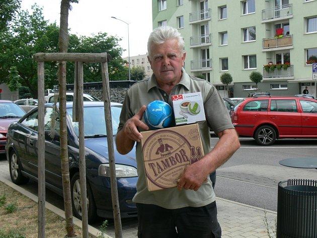 BRONZOVÁ POZICE patří Jaroslavu Mackovi z Dobrušky, který triumfoval v prvním a třetím kole.