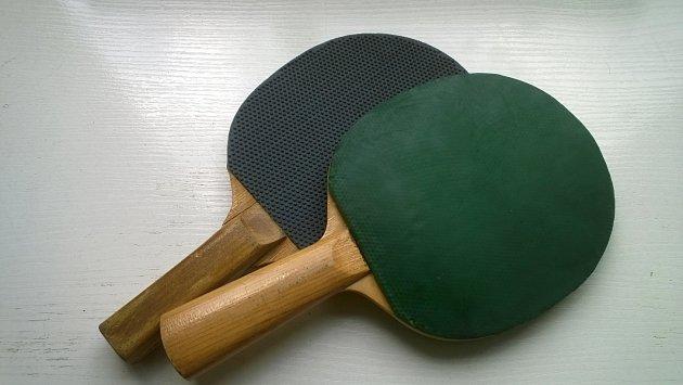 stolni tenis ilustracni foto