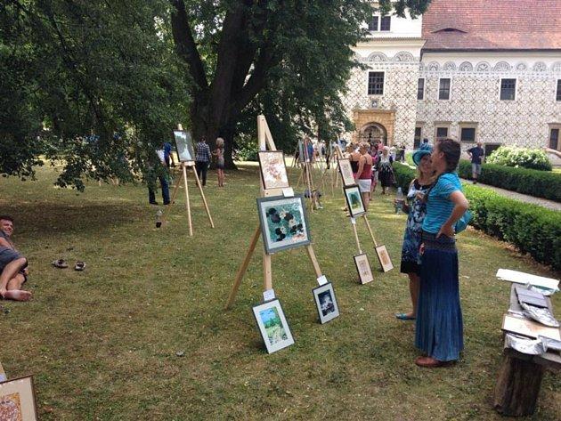 Zámek Doudleby ožije farmáři a výtvarným uměním.