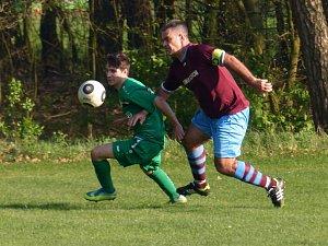Fotbal Žďár n. O. - Borohrádek