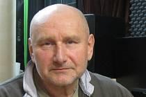 Jaroslav Mužík ve studiu.