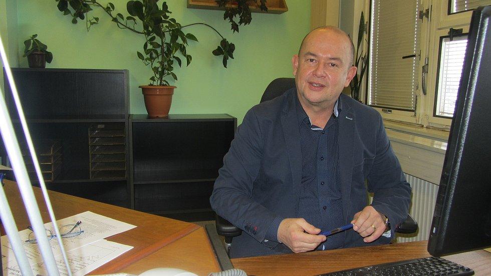 Luboš Mottl, ředitel rychnovské nemocnice. Foto: Deník/Jana Kotalová