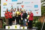 Třetí místo ve sprintových štafetách vybojovali veteráni rychnovského oddílu