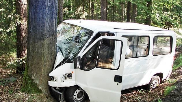 Nehoda mezi Česticemi a Borohrádkem