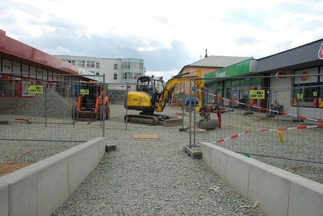 Rekonstrukce Havlíčkovy ulice a Školního náměstí v Rychnově