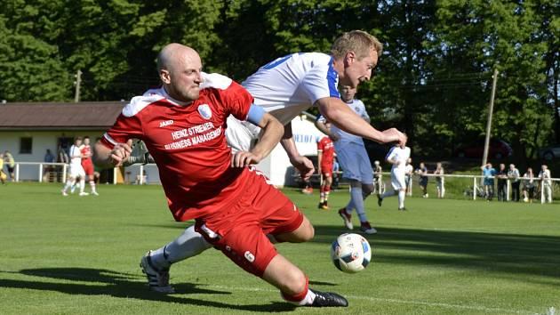 Krajský přebor ve fotbale: FK Kostelec nad Orlicí - FC Vrchlabí.