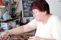 JSOU TO VĚCI PRO RADOST, říká o své práci Marie Hájková.