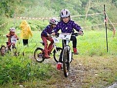 Malý Stalak Bike Cup potrápil vytrvalý déšť