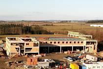 Pokračuje výstavba rychnovské hasičské zbrojnice.