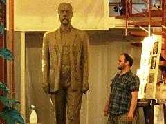 Na kontě sbírky na sochu T. G. Masaryka je už 350 tisíc korun.