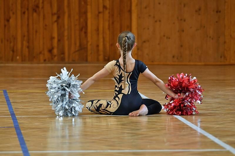 Mažoretky z Borohrádku uspěly na online šampionátu.