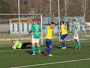 Krajská fotbalová I. A třída: SK Dobruška - SK Bystřian Kunčice.