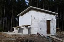 Stavba úpravny vody v Polomu