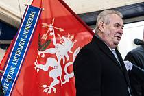 FOTO: Návštěva prezidenta Miloše Zemana v Kostelci nad Orlicí.