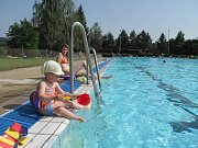 Koupaliště ve Vamberku bude mít nový velký bazén, možná už příští sezonu.