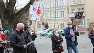 Demonstrace v Rychnově