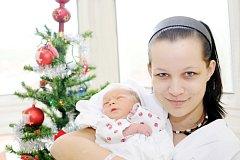 SYLVA DOSTÁLKOVÁ: Rodiče Petra Dostálková a Lukáš Filipčík z Liberku – Uhřínova mají od 23. prosince od 11.01 hodin radost z dcery. Narodila se s váhou 2,7 kg a délkou 47 cm. Tatínek to u porodu zvládl suprově.