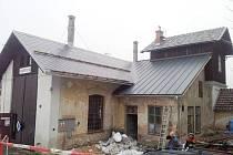 Muzeum železnice v Rokytnici má novou pokladní místnost.