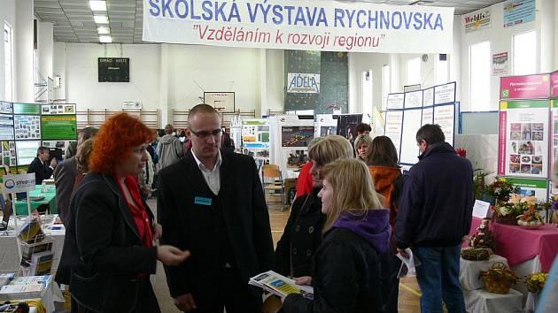 Školská výstava v Rychnově nad Kněžnou