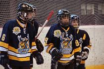 Z utkání starších žáků Forest Hill Toronto - HC Choceň na turnaji v Opočně.