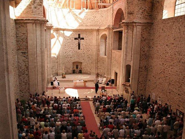 Nedělní poutní mše svatá
