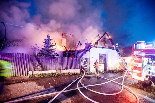 Tragický požár ve Hrošce