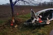 Nehoda stála život jednadvacetiletého muže.