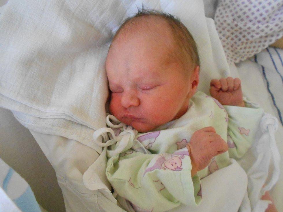"""Vanesa Bednářová se narodila 19. 11. 2020 v10.53 hodin. Měřila 50 cm a vážila3180 g. Tešili se na ni rodiče Jana a Pavel Bednářovi zRychnova nad Kněžnou a také bráška Daniel. Tatínek byl u porodu. """"Byl nám obrovskou oporou,"""" svěřila se maminka."""