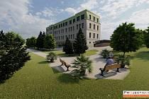 Vizualizace domova pro seniory v Opočně. zdroj: KÚ Královéhradeckého kraje