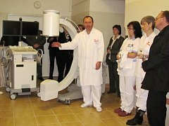 Mobilní rentgen v rychnovské nemocnici