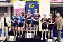 Děvčata z SK Dobré Adéla Sazimová a Vendula Šichanová vybojovaly na velkém turnaji v Rakousku první místo.
