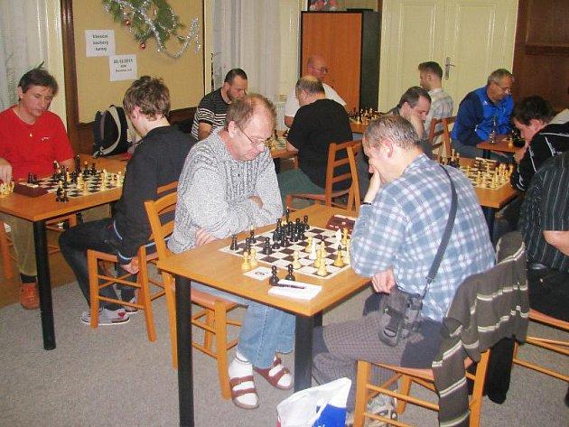 V pondělí se v Kostelci nad Orlicí konal šachový turnaj.