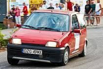 Závod Matrix M. V. Rally v Kostelci nad Orlicí.