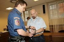 Michal Semanský, obviněný z trojnásobné vraždy