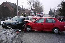 Nehoda v Českém Meziřící