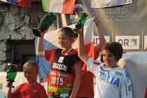 Talentovaná Eliška Rejchrtová z Českého Meziříčí si dojela pro celkový pohárový triumf v kategorii předžákyň.