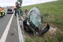 Další nehoda a zraněný na frekventovaném tahu.