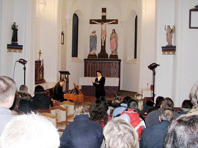 Obnovená kaple svaté Anny poprvé ukázala své možnosti
