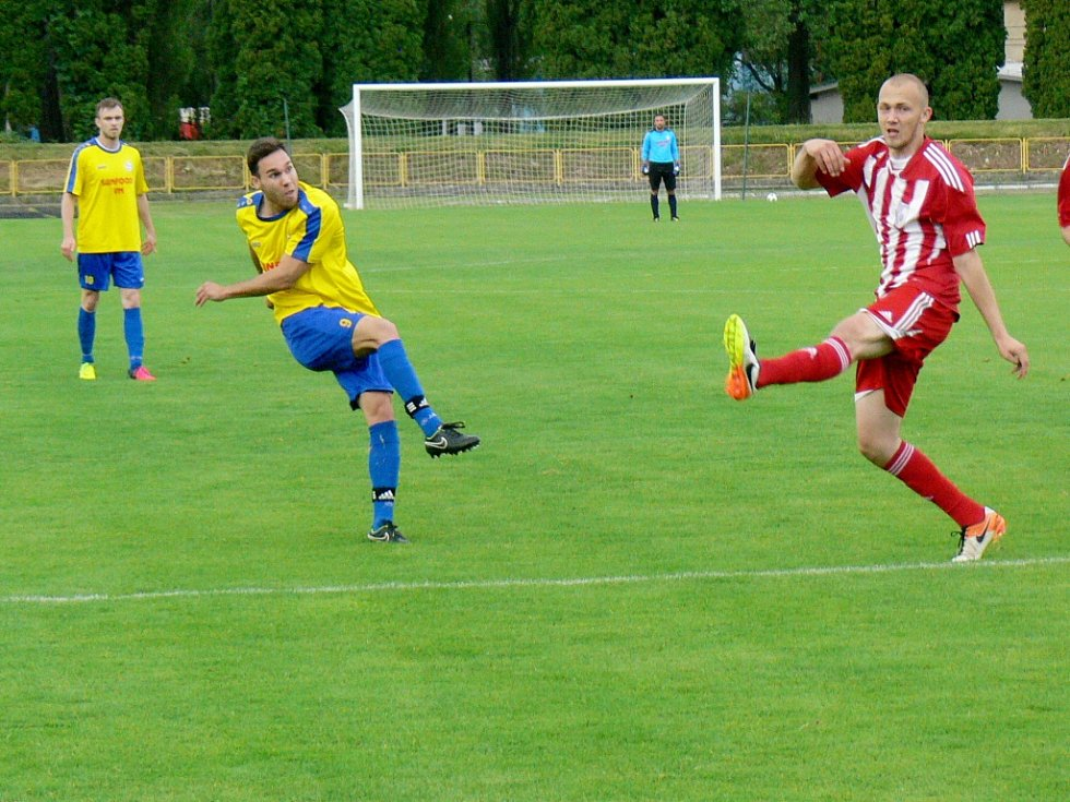 Krajský přebor ve fotbale: SK Dobruška - SK Libčany.