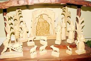 Výstava betlémů v Podorlickém vzdělávacím centru v Dobrušce