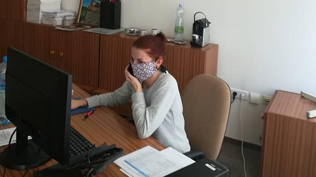 Dobrovolnice na krizové lince Kateřina Dušková