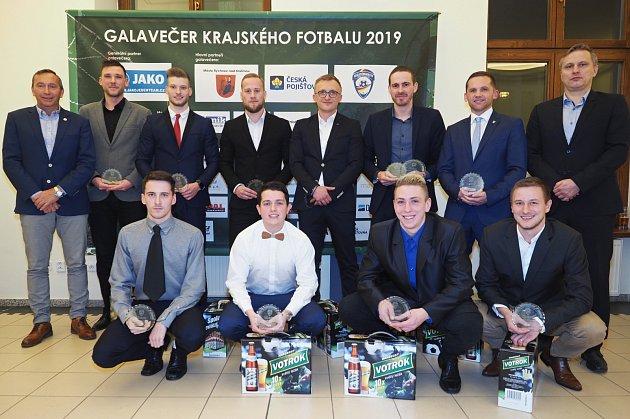 Nejlepší XI krajského přeboru podle Deníku za sezonu 2017/18.
