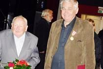 Zlaté medaile obdrželi Radovan Dražan a Pavel Taussig.