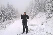Někteří vyrazili za sportem na hory. Častým cílem bylo Deštné v Orlických horách.