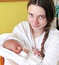 FRANTIŠEK HOSPODSKÝ se narodil manželům Johaně a Jiřímu z Bohdašína. Chlapeček přišel na svět 4. 1. ve 22.36 hodin.  Po narození vážil 3,6 kg a měřil 52 cm. Tatínek to u porodu zvládal na výbornou.